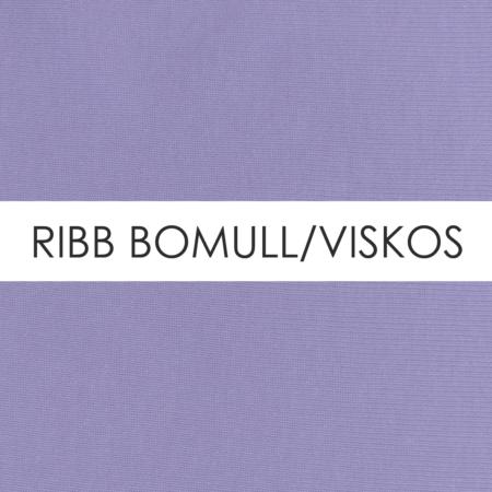 Ribb Bomull/Viskos